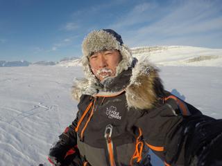(写真:国内外で注目されている北極冒険家の荻田)