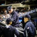 (写真:これまでヤンキース首脳陣は田中将大<右>を慎重に起用してきたが、メジャー4年目の今季は200イニング以上は必須だ Photo By Gemini Keez)