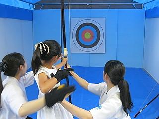 (写真:8月20日の国体プレイベントでは弓道体験会なども行われる)