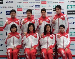 競泳代表・萩野、金メダル宣言 ...